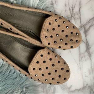 BAKERS fabric studded Slip On Loafer